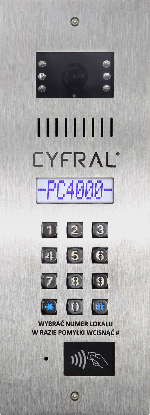 Panel Cyfral